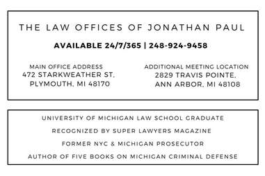 Michigan Drug/Controlled Substance Lawyer - Former Michigan